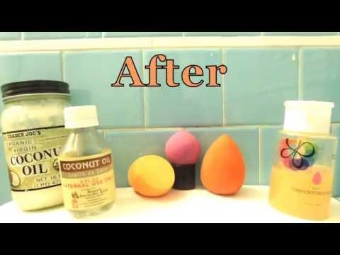 Two Ways I Clean My Beauty Blenders | Arlenexo |