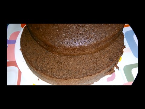 How To  Make Chocolate Sponge Cake Without Oven