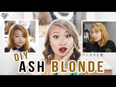 TIPID NA DIY ASH BLONDE | LESS THAN PHP 1000?.!