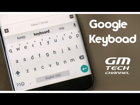 Google Keyboard - Android Nougat Keyboard