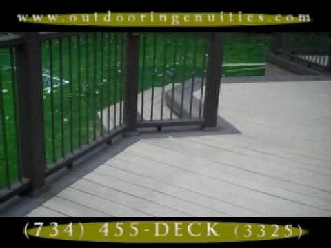 Cleaning Instructions for Composite Decking