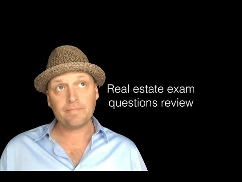We reviewed Real Estate Exam Questions and topics to ensure passing!
