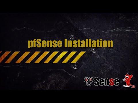 pfSense - Installation