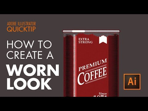 How to Create a Rusty Metal Look - Illustrator