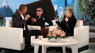 Ellen Scares Will Smith for the