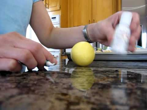 How to Make a Rice Krispie Tennis Ball Part 2