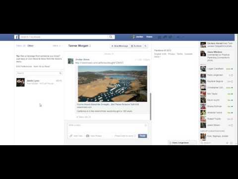 The 'other' Facebook messages folder