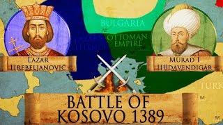 Battle of Kosovo 1389 - Serbian-Ottoman Wars DOCUMENTARY