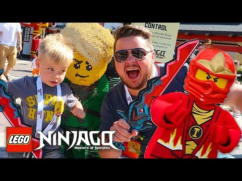 LEGOLAND FLORIDA NINJAGO WORLD CHARACTER MEETING!
