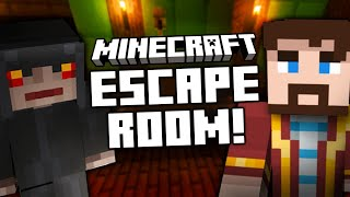 TOM \u0026 LEWIS IN A MINECRAFT ESCAPE ROOM #AD