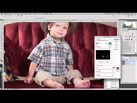 Using the Replace Color Tool in Photoshop CS5