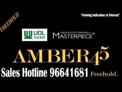 Amber 45- New Launch Condo-FREEHOD-Developer Sales Team Hotline 96641681