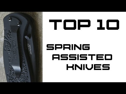 Top 10 Spring Assisted Knives