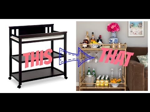 Shopping for a DIY | Saturday Routine | Follow me Around | DIY Bar Cart