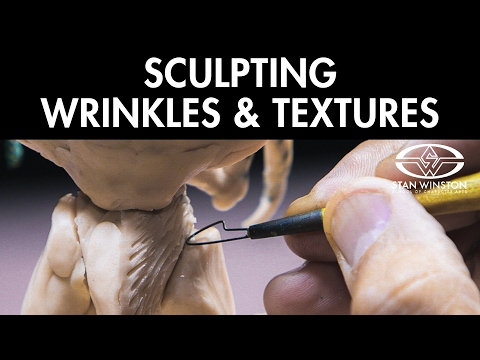 Toy Design & Sculpture: Sculpting Wrinkles & Texture - FREE CHAPTER