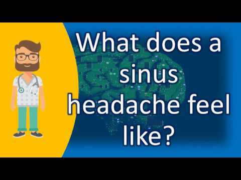 What does a sinus headache feel like ? | Health Channel