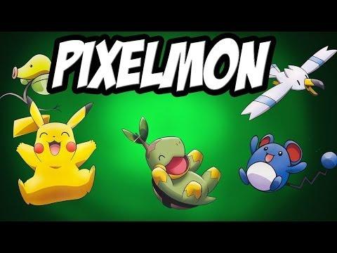 PIXELMON MOD SHOWCASE ep 1 Pokeballs