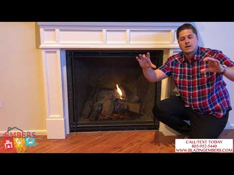 Heat N Glo True Series vs.  Majestic Marquis II Gas Fireplace Review