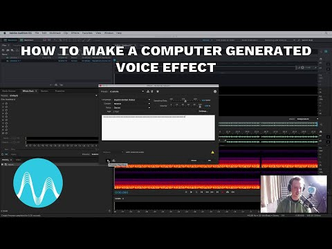How to Make a Computer Generated Voice Effect