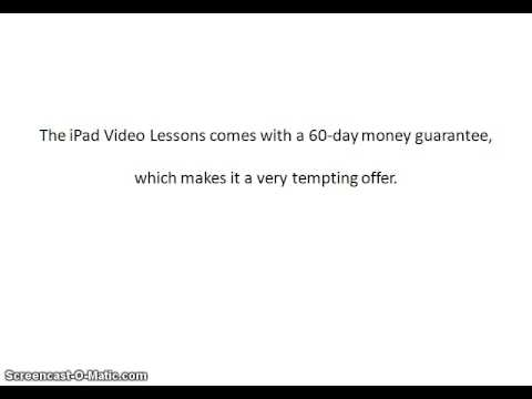 iPad Video Lessons Review | iPad Video Lessons