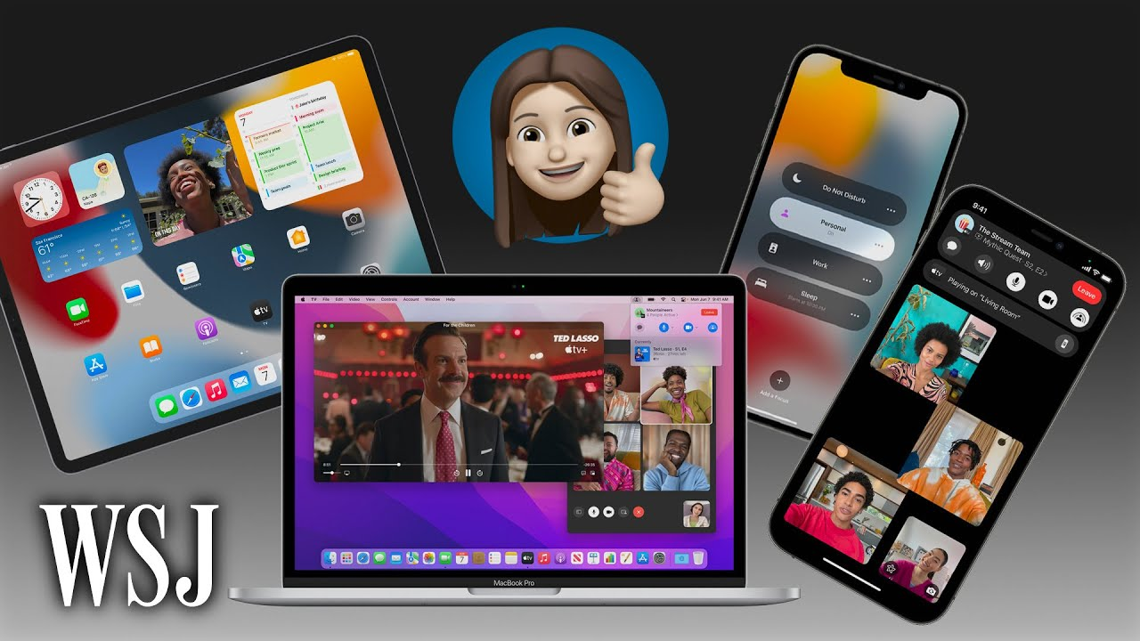 iOS 15, iPadOS 15, MacOS Monterey: 10 Big Changes Coming to Your Apple Device   WSJ