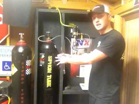 How to fill a nitrous bottle