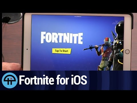 Play Fortnite on Your iPad