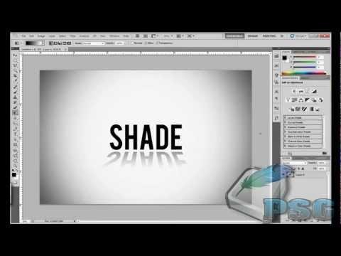 PS CS4 Easy 3D Text Shadow Tutorial (EP2)