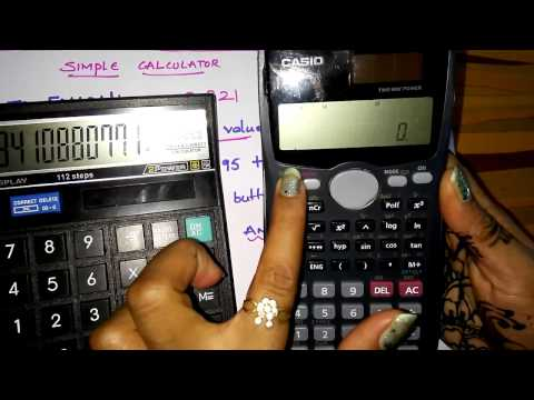 Trick to find Antilogarithm values on a simple calcutor without scientific calculator