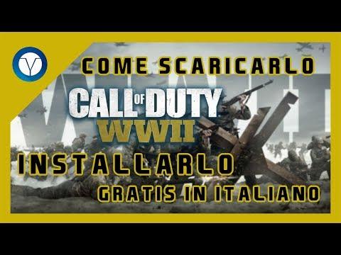 Come scaricare Call of Duty: WWII per PC in ITALIANO [2017]
