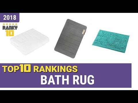Best Bath Rug Top 10 Rankings, Review 2018 & Buying Guide