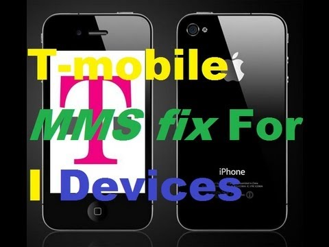 Fix T-mobile MMS on iPhone 5/4s/4/3Gs/3G On Any iOS From 6.1.3/6.1.2/6.1/6.0/5.1.1/5.0.1/4.3.5