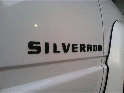 New SILVERADO Emblems