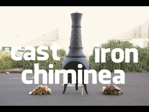 $279 CAST IRON CHIMINEA COUNSELING!