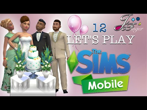The Sims Mobile LETS'S PLAY | PART 12 | HOSTING A WEDDING PARTY 🥂🍽🎉 🎊