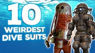 10 Weirdest Dive Suits
