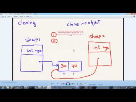 Cloning an object in Java (Hindi)