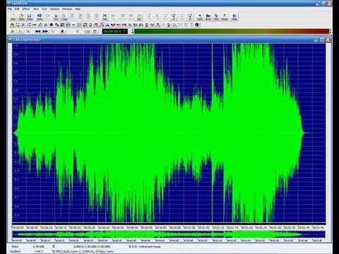 How to make an mp3 louder using goldwave