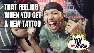 Thai rappers FIIXD & Youngohm get tattoos for MTV in Rappers Rollin