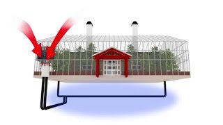 Green Home Designs - Living inside a greenhouse with Nature House - Idea Snack