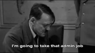 Hitler finds out Sam Warburton got sent off