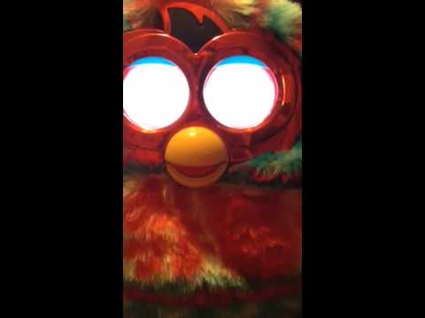 How to change a furby boom to a guy