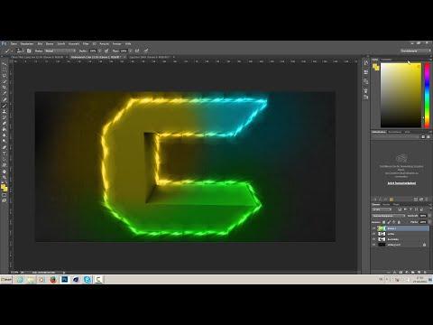 CaPz MoDz 3D Logo Speedart (Cinema4D, Photoshop)