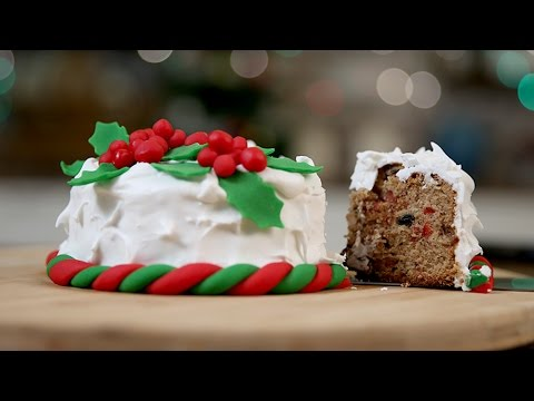 How To Make PLUM CAKE | Traditional CHRISTMAS CAKE Recipe | The Bombay Chef - Varun Inamdar