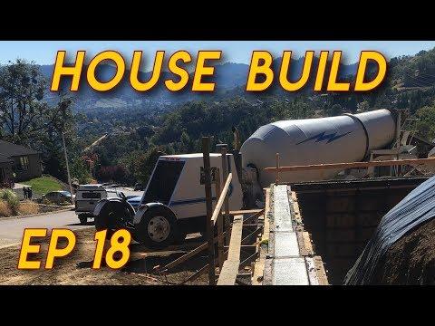 Pouring a Concrete Wall: Ep.18