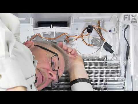 Whirlpool Refrigerator Repair - How to Replace the Temperature Sensor