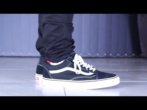 Vans Old Skool Review & On Foot
