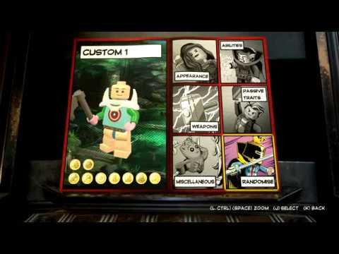 LEGO MARVEL Super Heroes 2 - Operation: Rebirth Achievement, Create a custom superhero 60fps