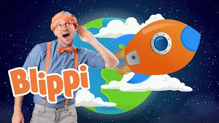 Blippi Builds A Rocket Ship | 1 Hour Of Learning Fun With Blippi