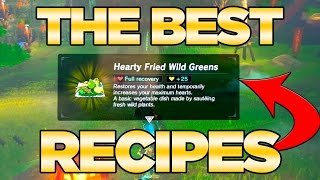 Download THE BEST Recipes GUIDE in Breath of the Wild - Best Dishes Cooked| Austin John Plays Video